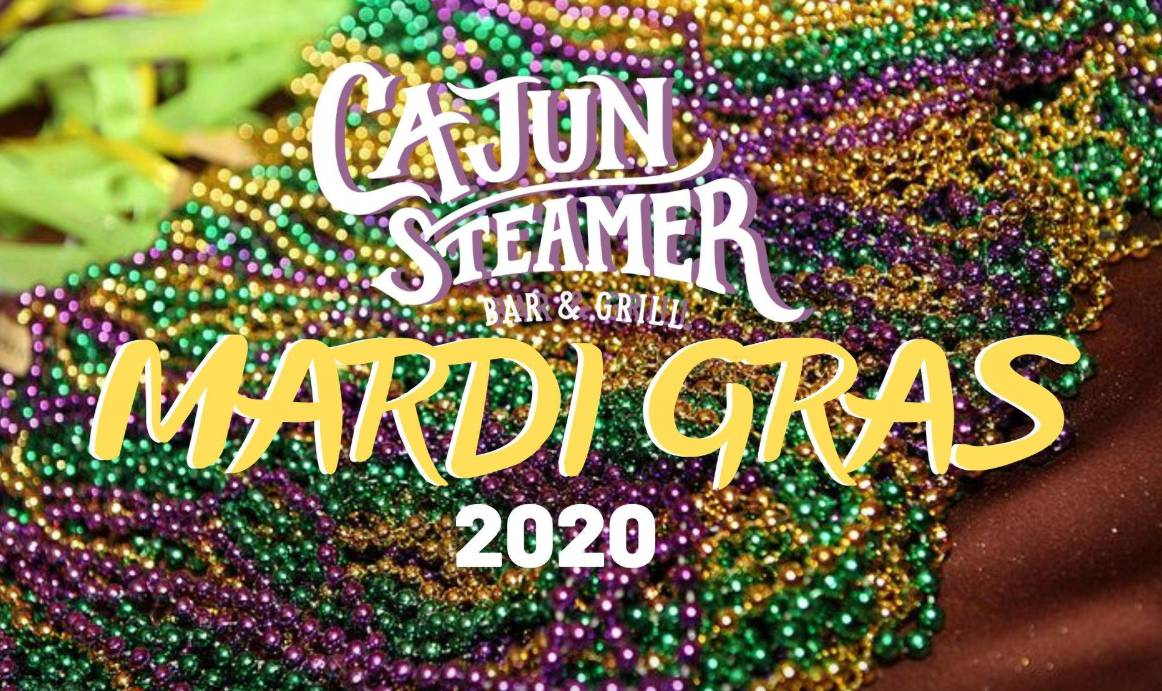 Mardi Party at Cajun Steamer