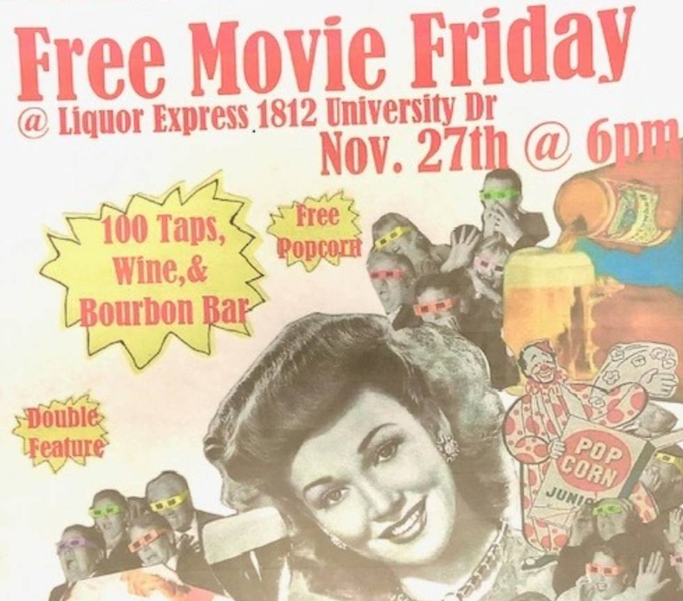 Free Movie Fridays Double Feature