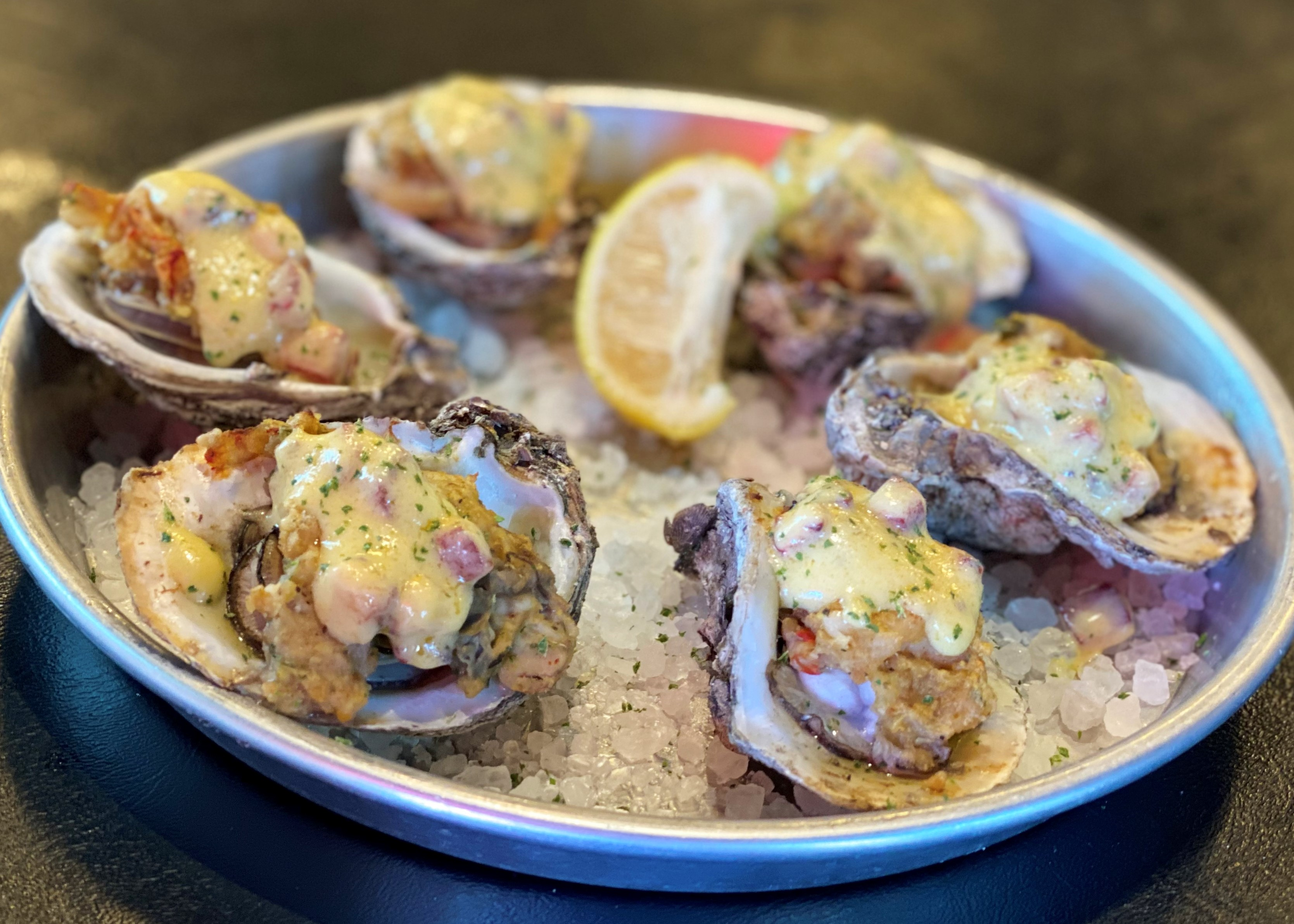 Oct/Nov Special Menu Item! Creole Cornbread Oysters