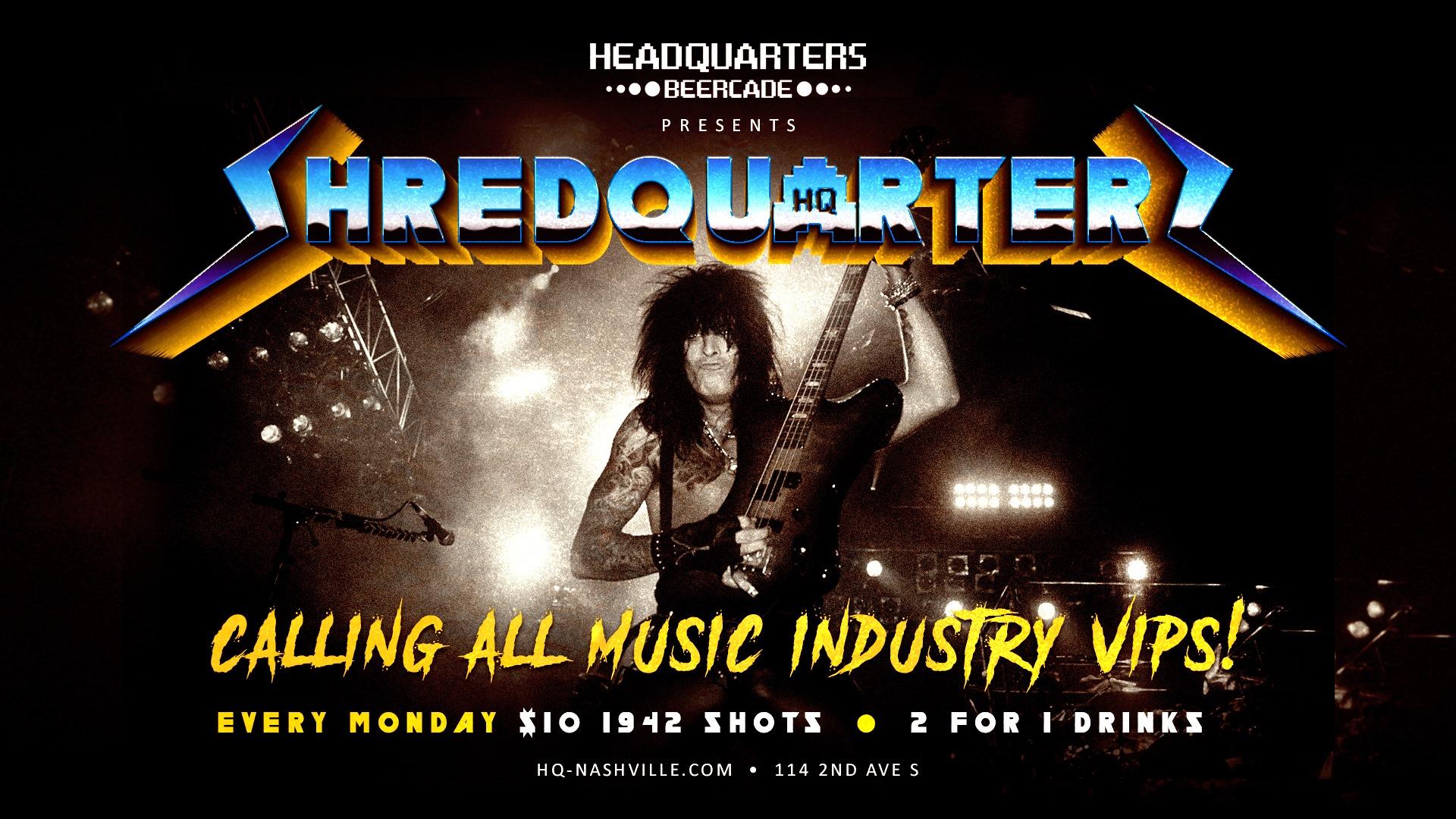 Music Industry Night Guitar Hero Tourney
