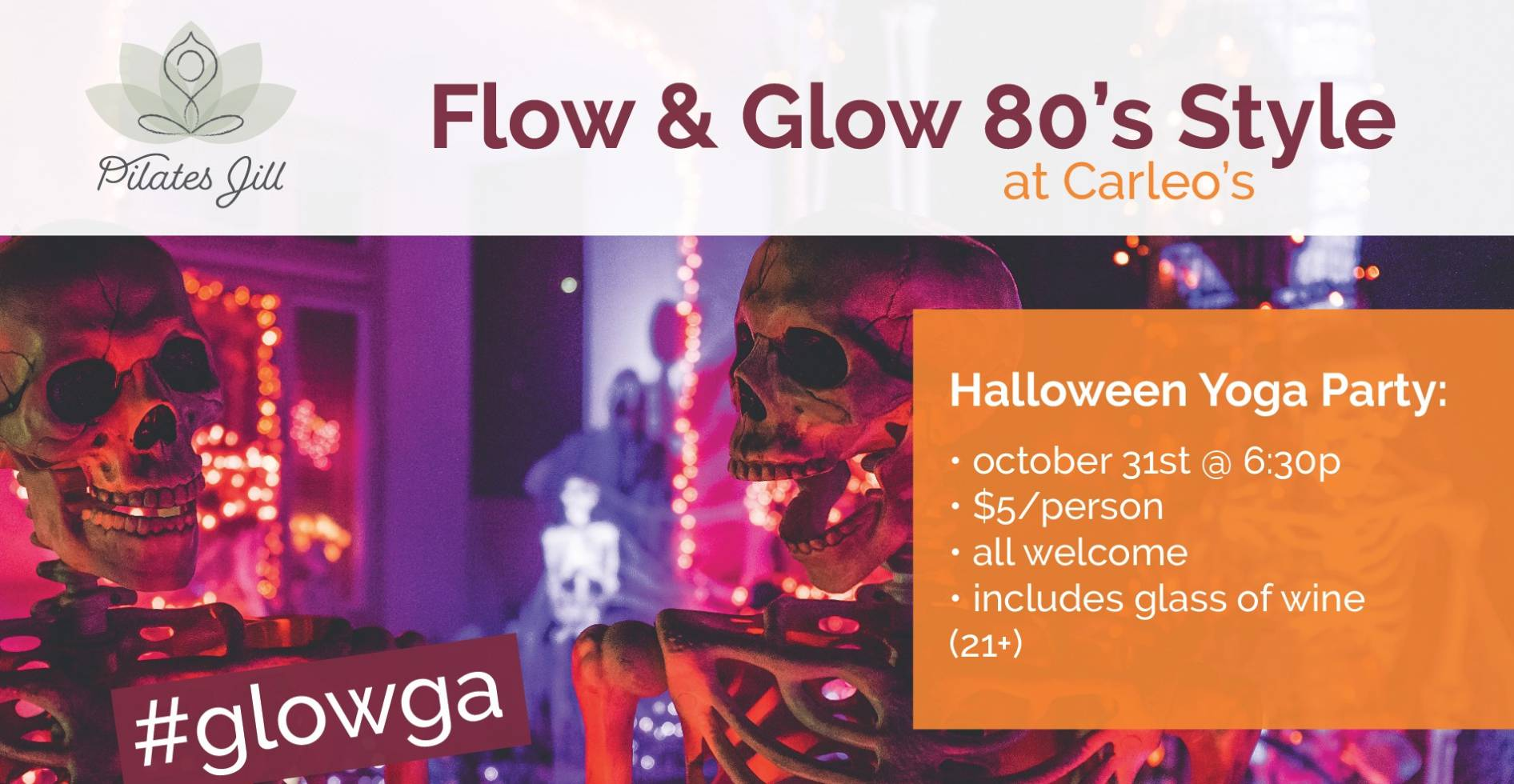Flow and Glow 80's style