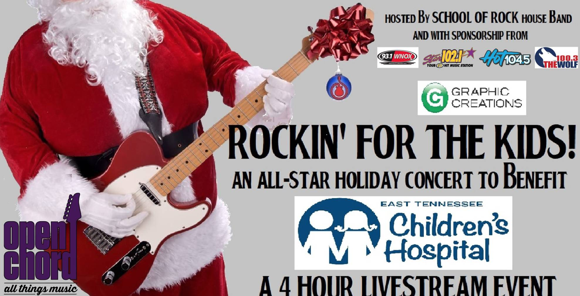 ROCKIN' for the KIDS!