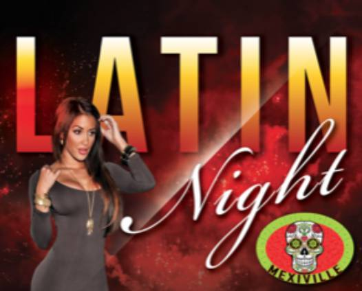 Happy Hour (2-6) & Latin Night (11pm)