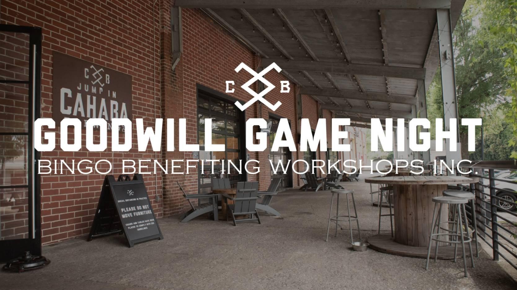 Goodwill Game Night: Bingo