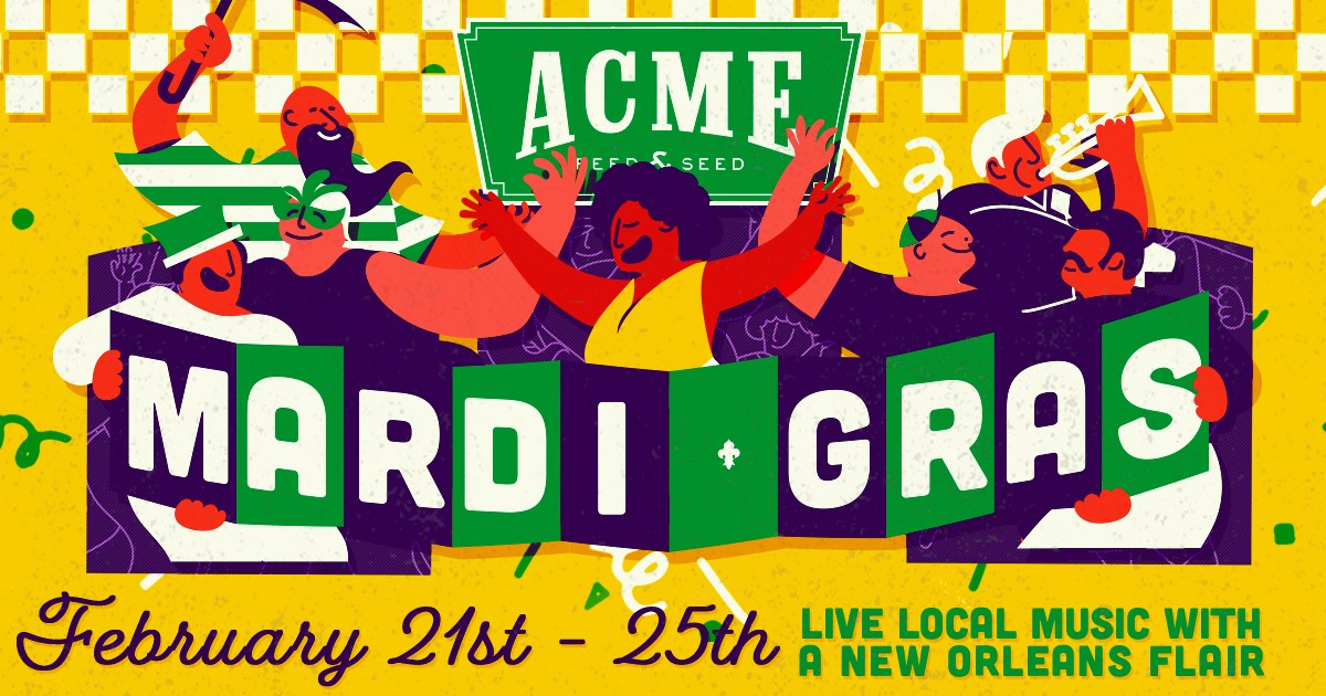Mardi Gras at Acme