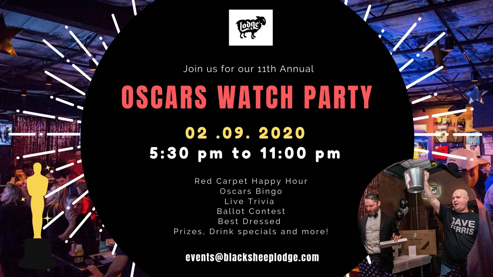 11th Annual Oscars Watch Party