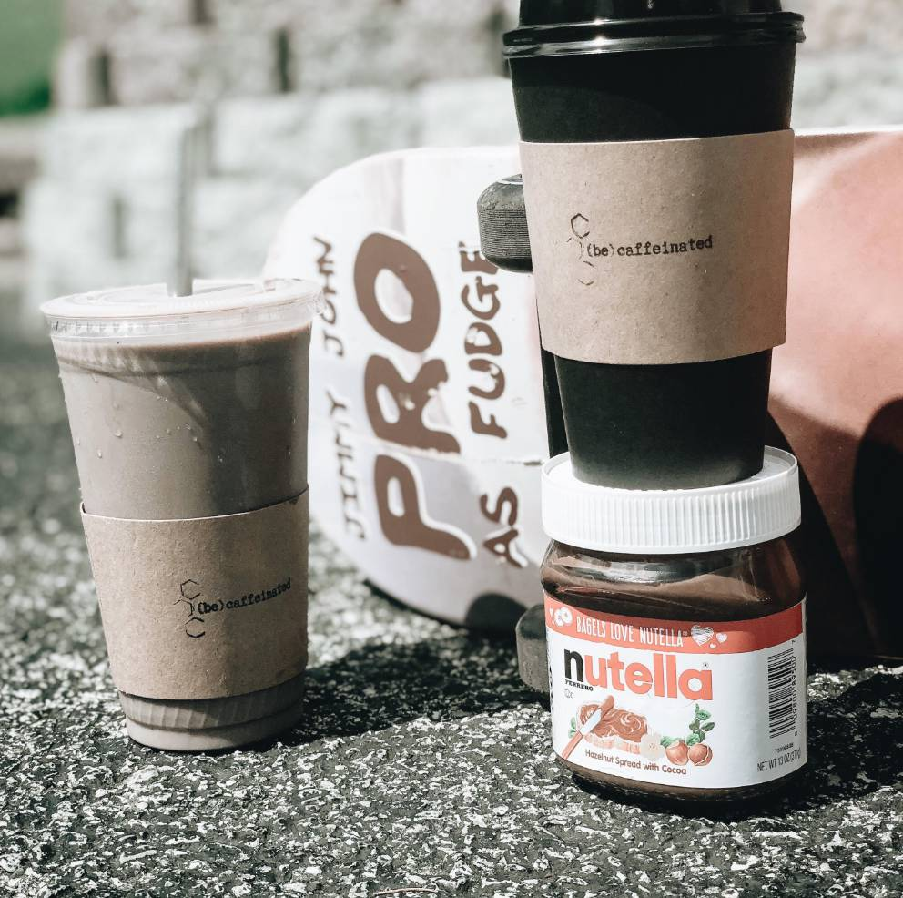 Drink of The Moment: Nutella Latte