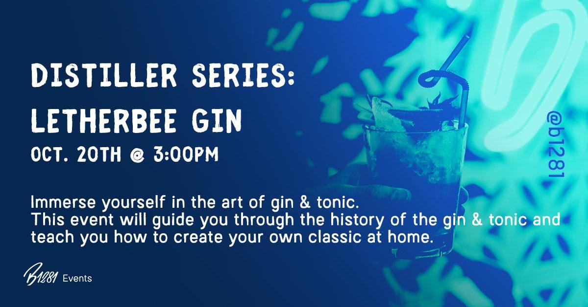 Distiller Series: Letherbee Gin