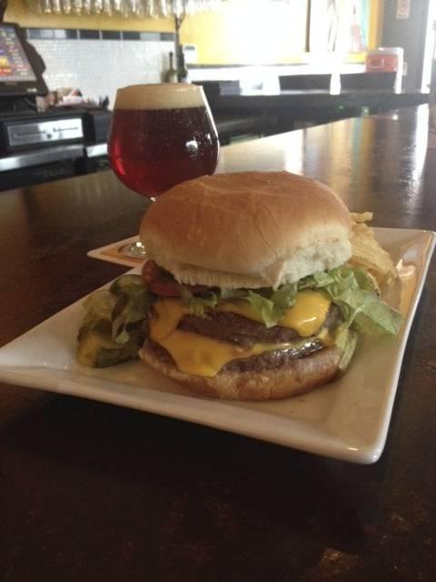 Burger & Pint Night