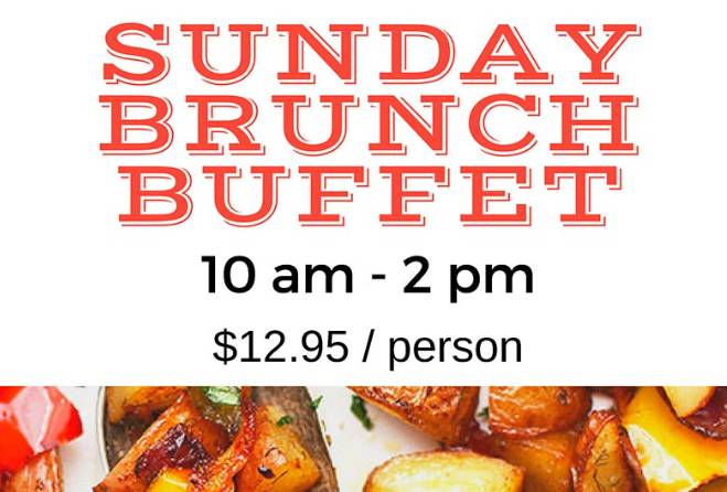 Sunday Brunch Buffet & Drink Specials