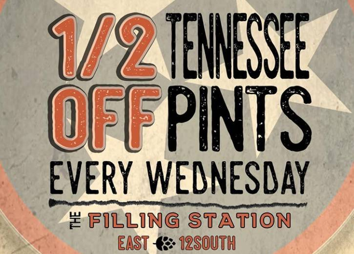 1/2 Off Tennessee Pints