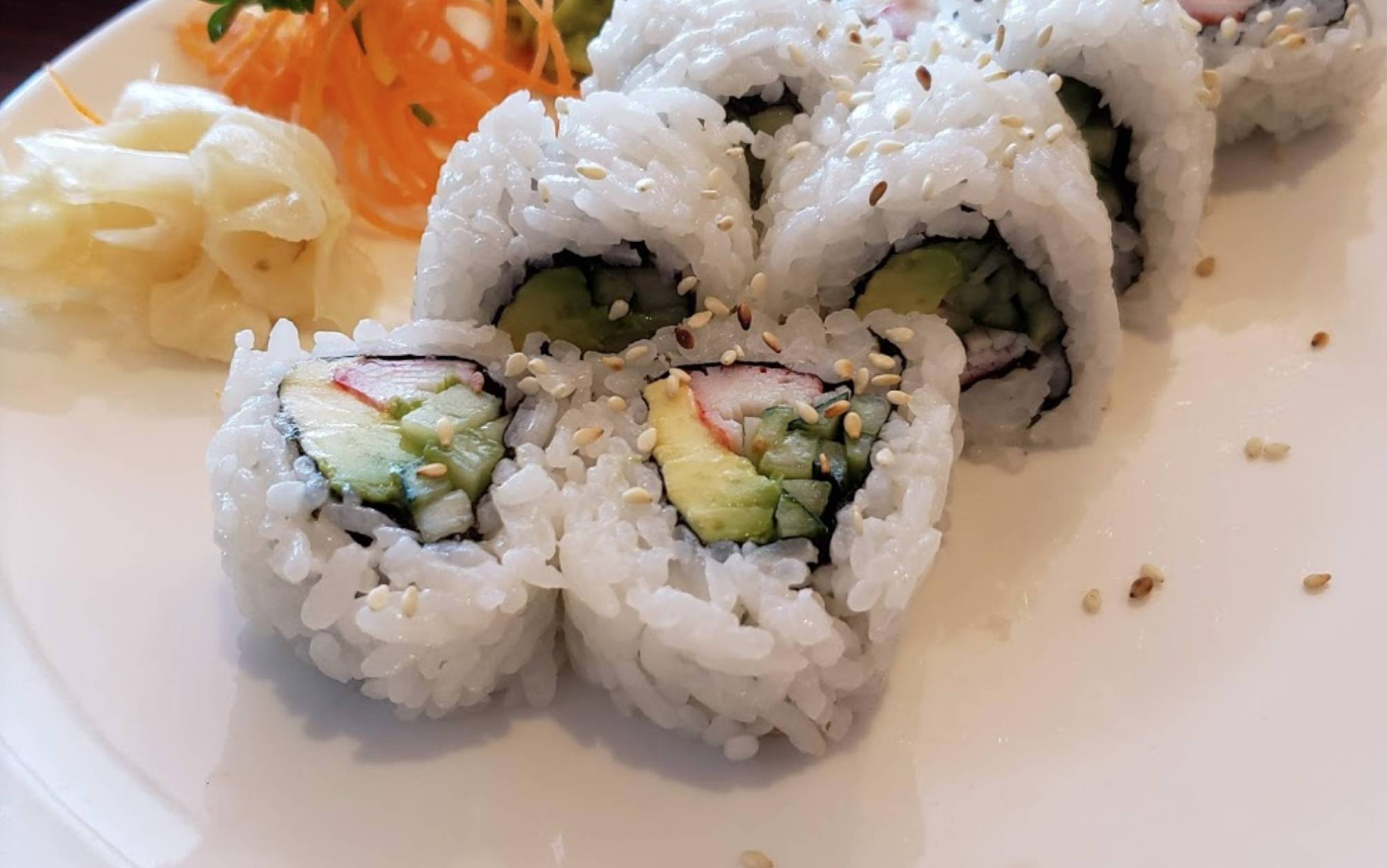 Lunch Special: $10 2 Sushi Roll Combo