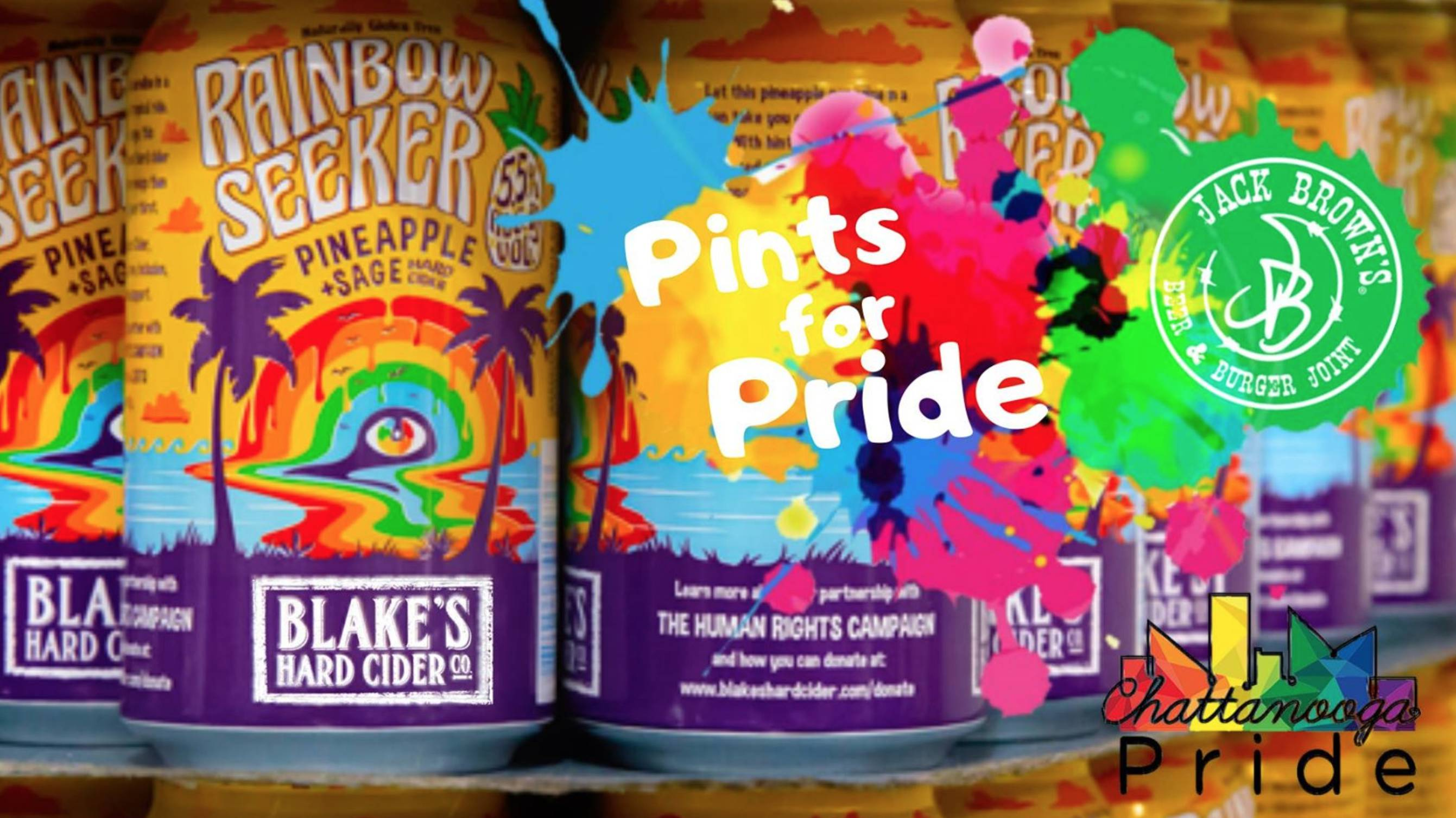 Pints for Pride with Blake's Cider