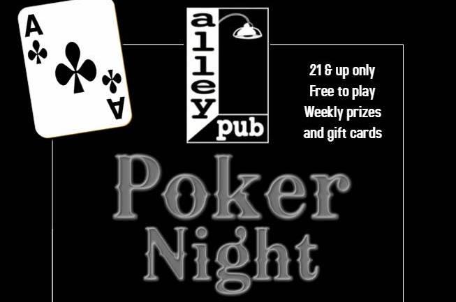 Poker Night at Alley Pub