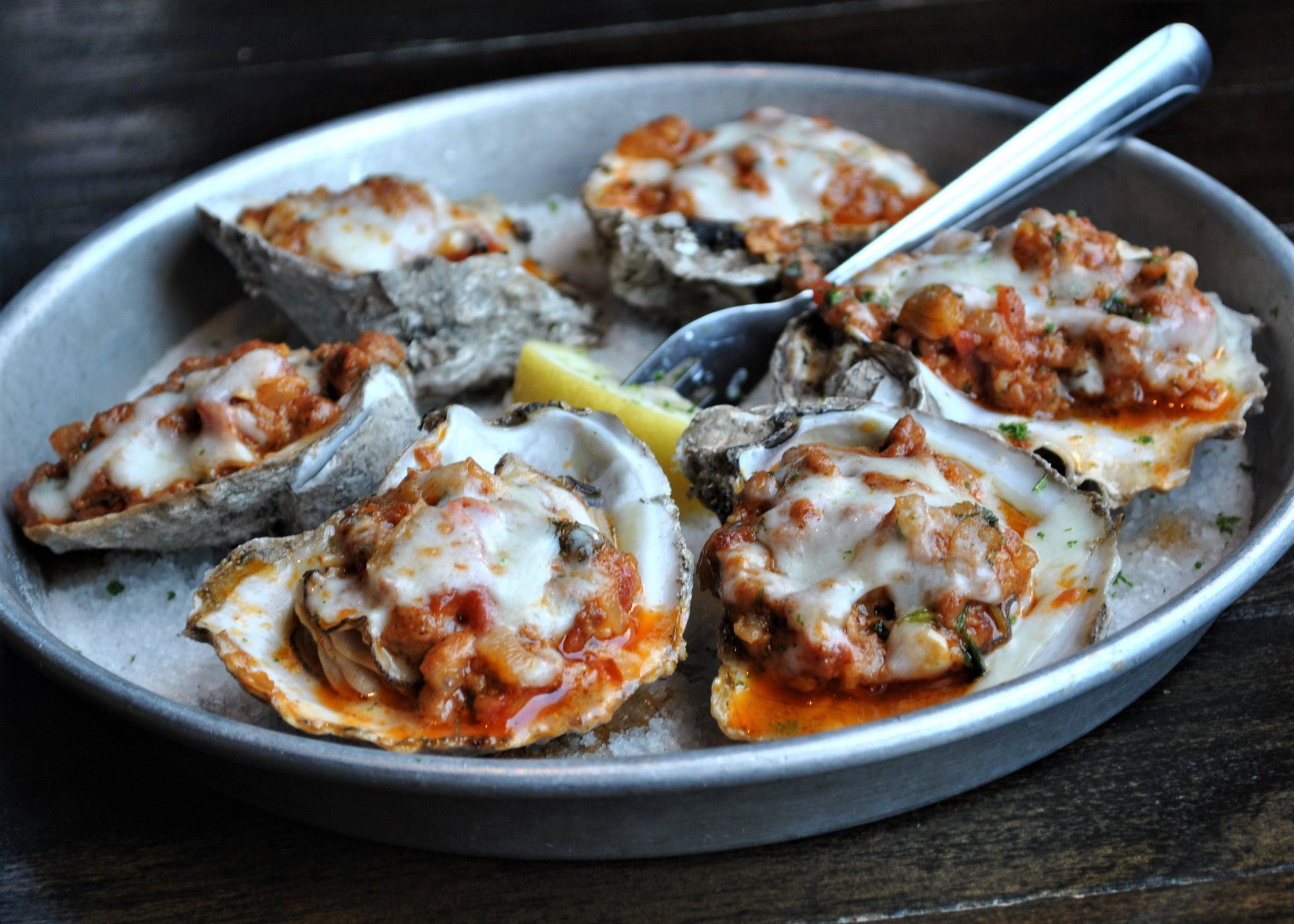 June & July Specials: Oysters