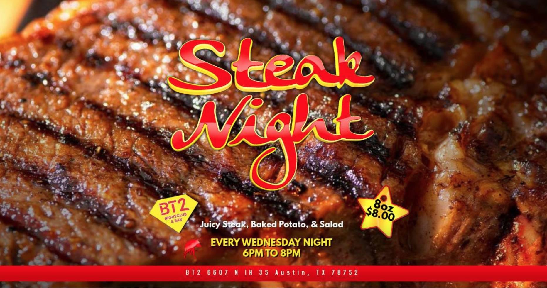 Steak Night at BT2