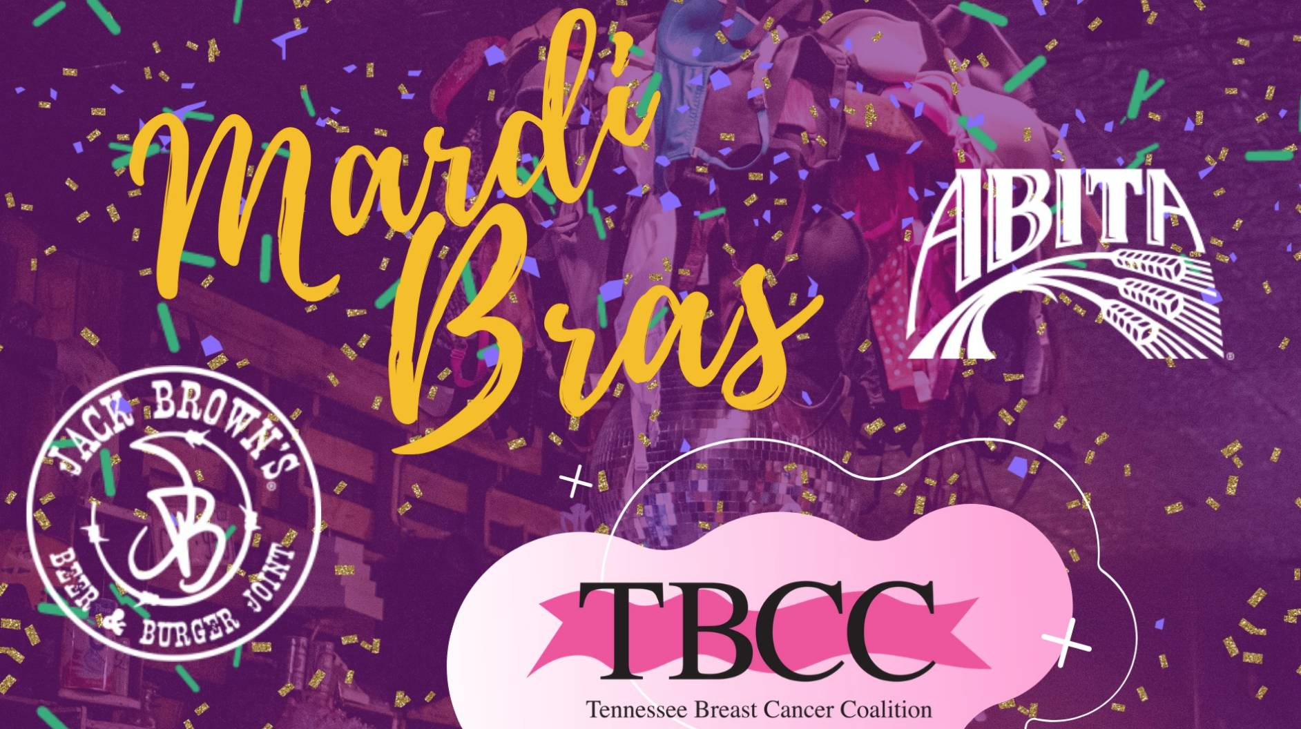 Mardi Bras with Abita!