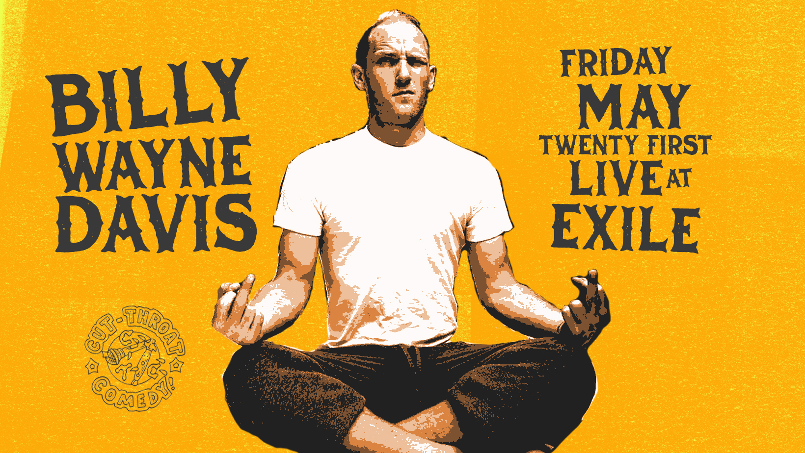 Billy Wayne Davis - Live at Exile