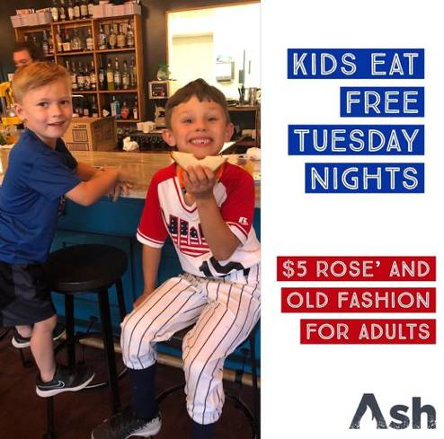 Kids Eat Free - Every Tuesday!