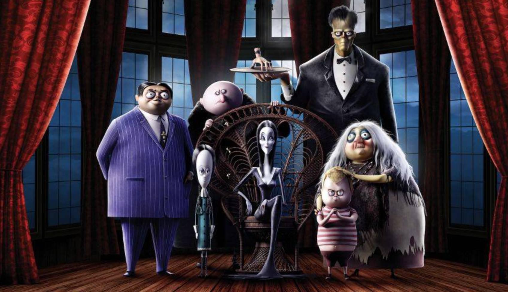 The Addams Family Movie Night