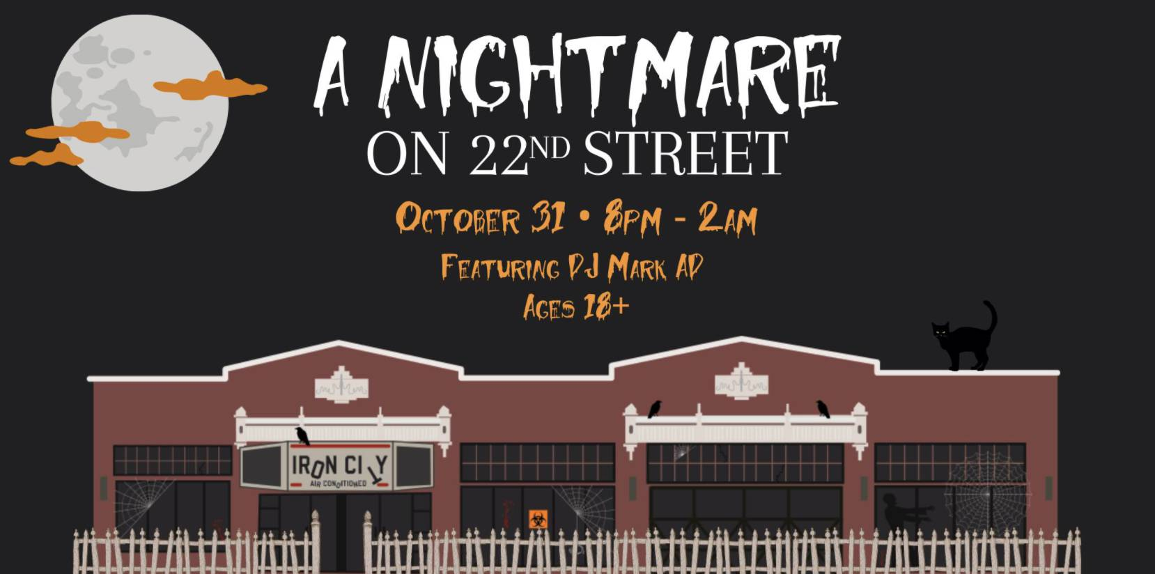 A Nightmare on 22nd St Halloween Party