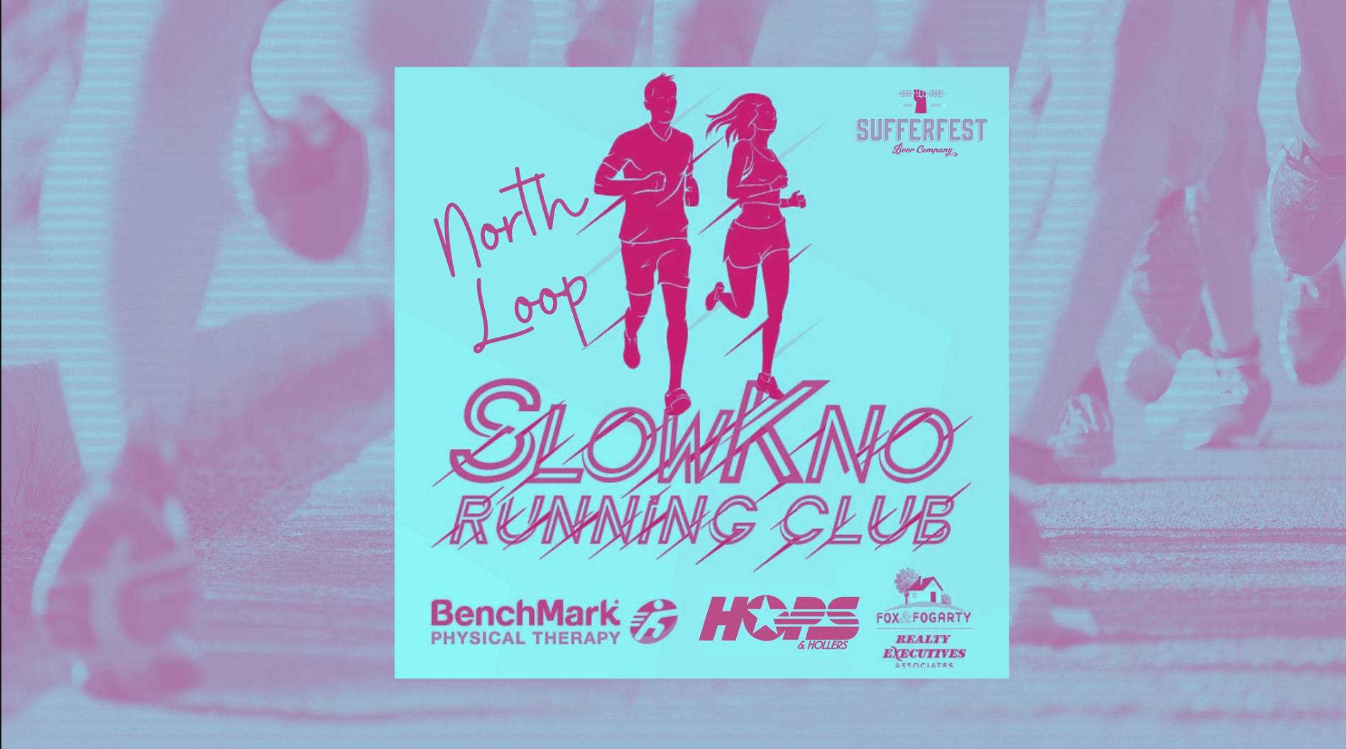 SlowKno Running Club North Loop