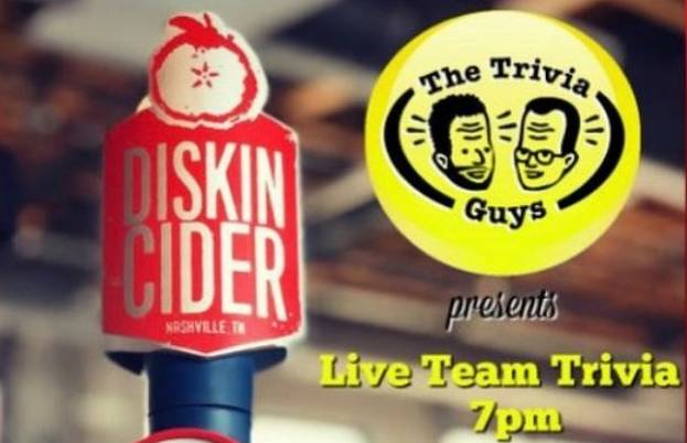 Live Team Trivia at Diskin Cider
