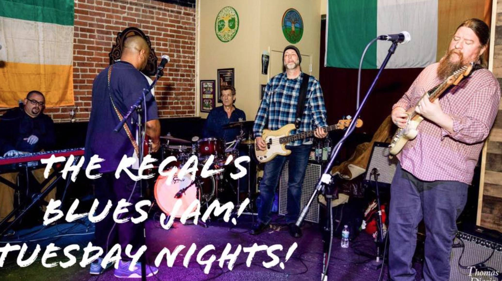 The Regals Blues Jam