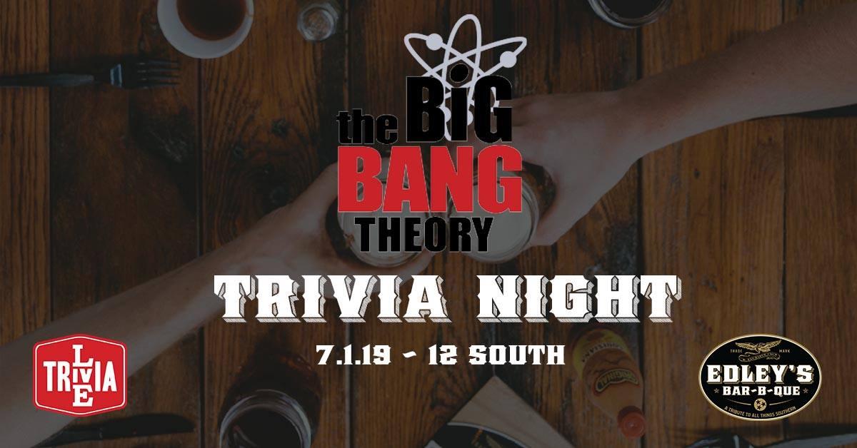 The Big Bang Theory Live Trivia Night