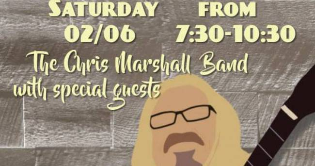 Chris Marshall Band w/Special Guests