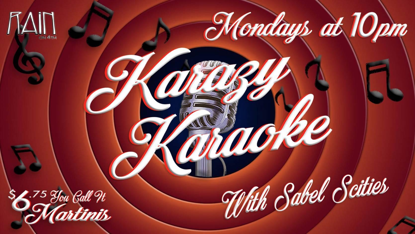 Karazy Karaoke with Sabel Scities