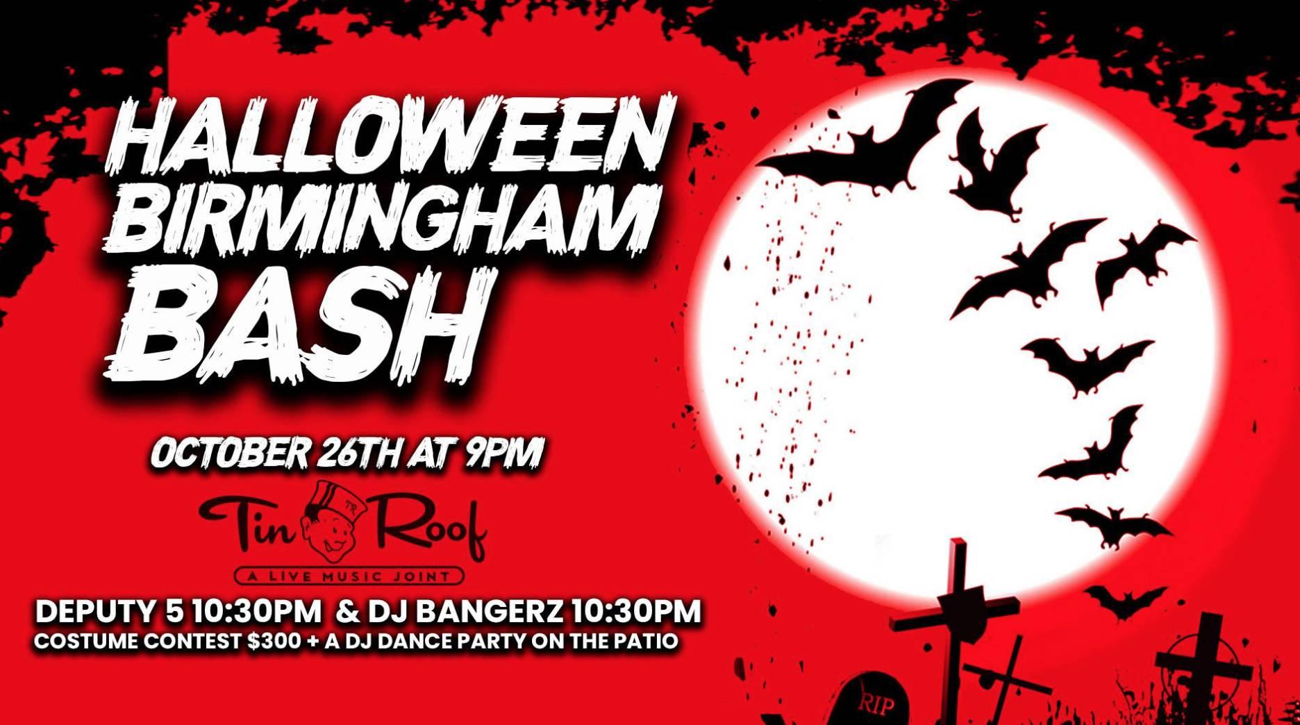 Halloween Birmingham Bash!