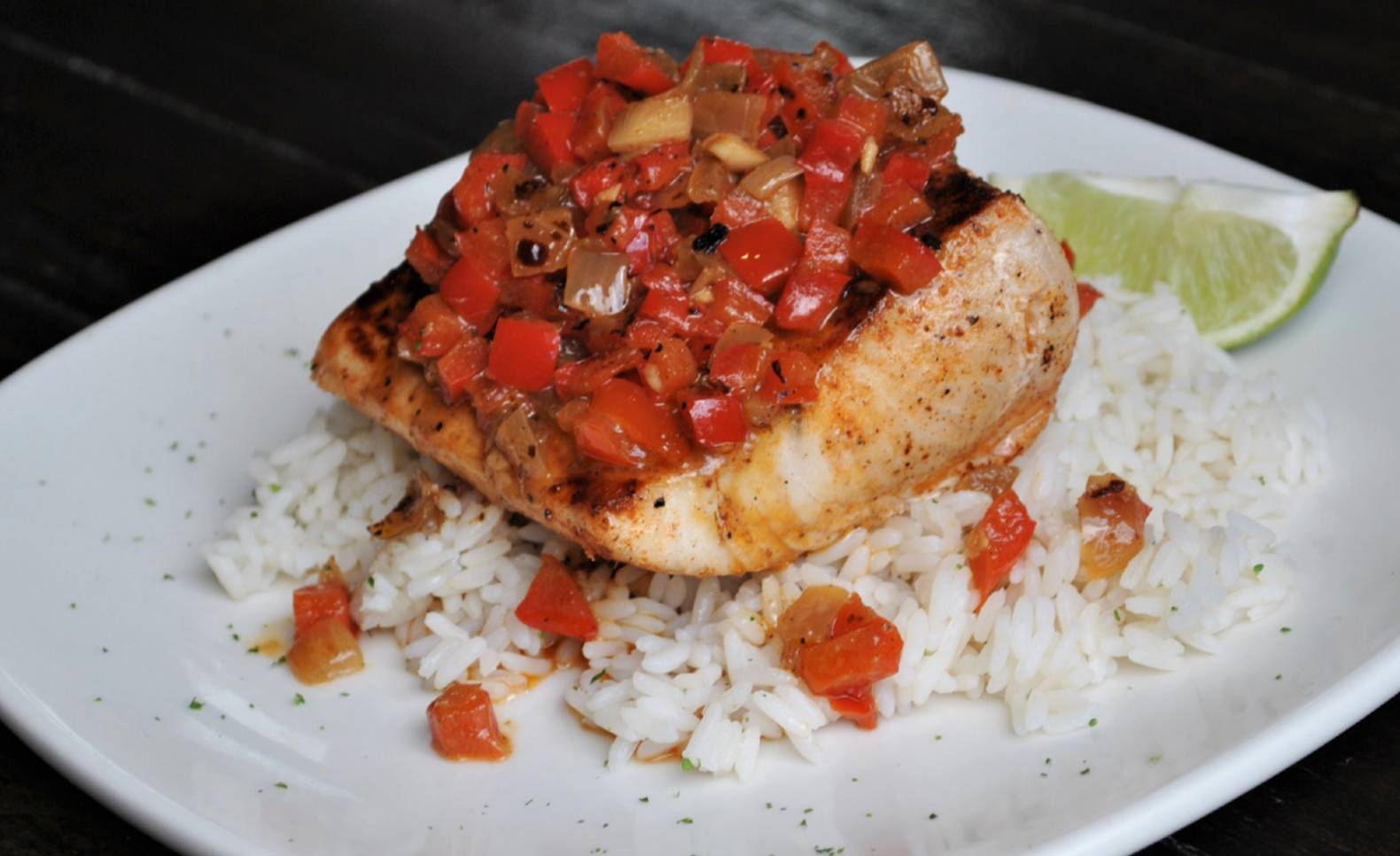 New Spring Menu Item - Cobia St. Charles!