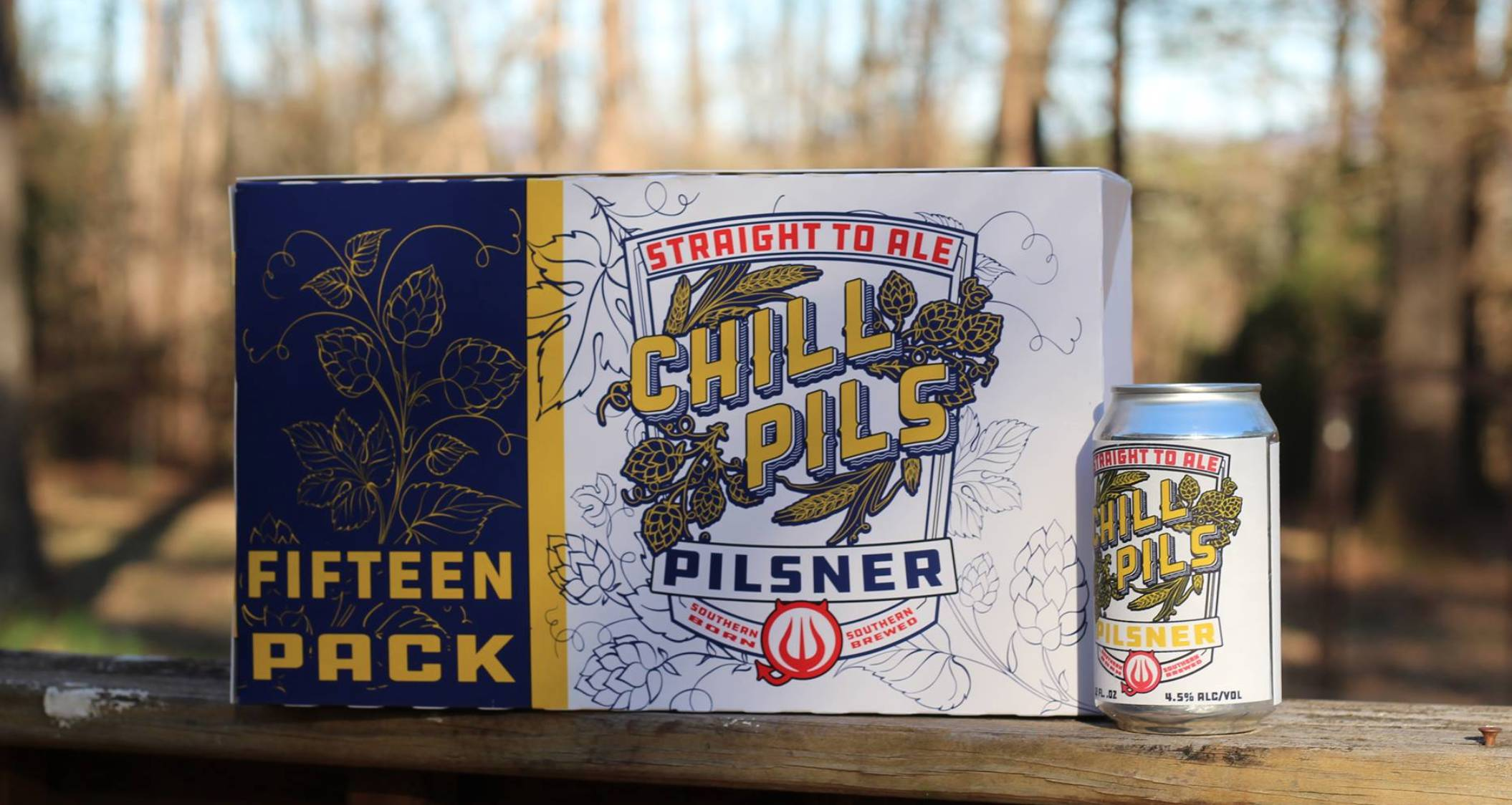 Straight to Ale Chill Pils Can Launch
