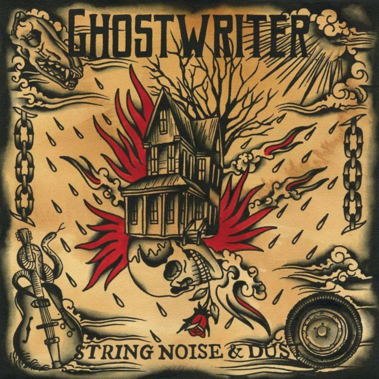 Ghostwriter at Buzz Mill
