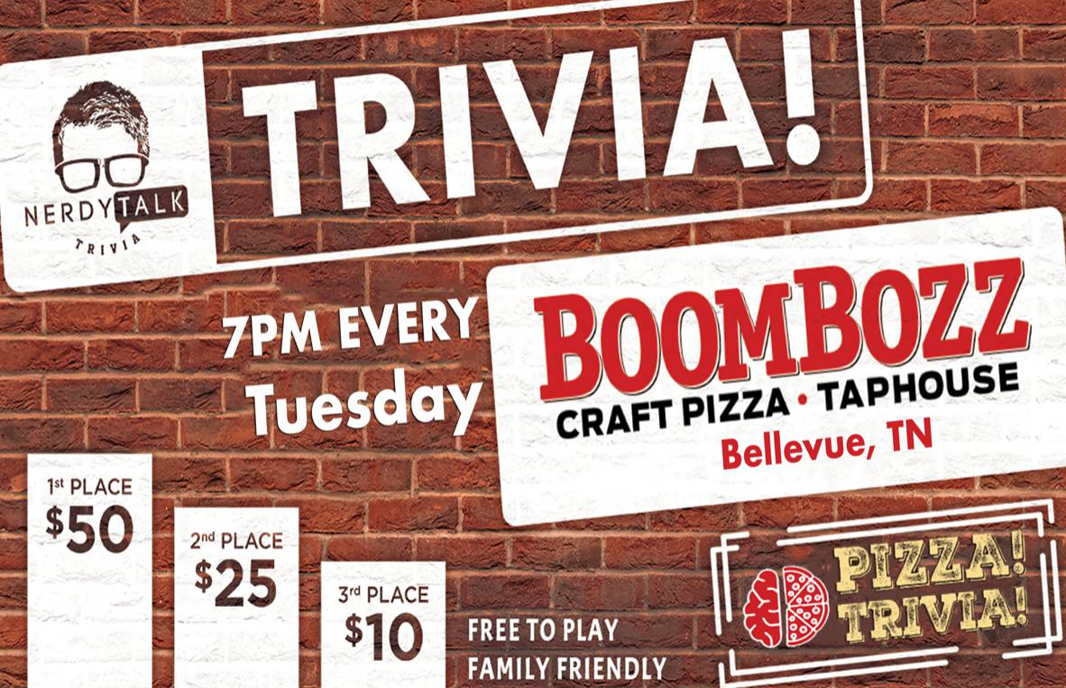 Tuesday Trivia Night + $$Prizes$$!