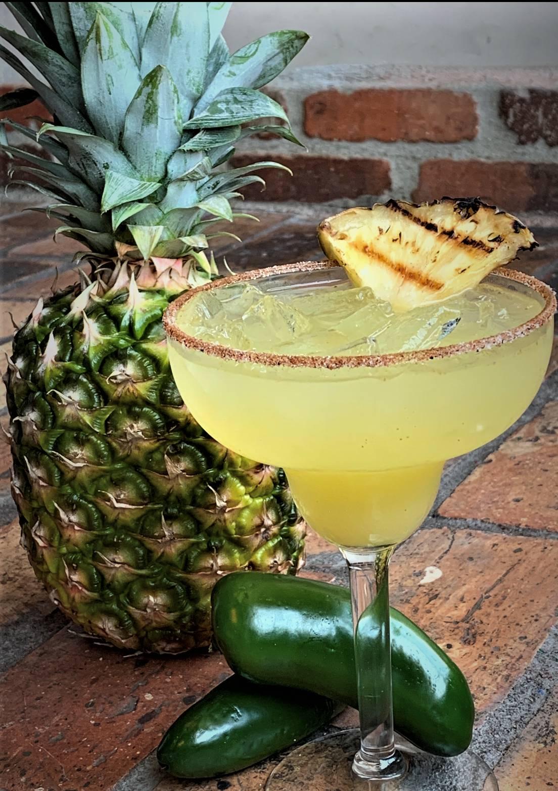 June & July Specials: Grilled Pineapple Jalapeño Margarita