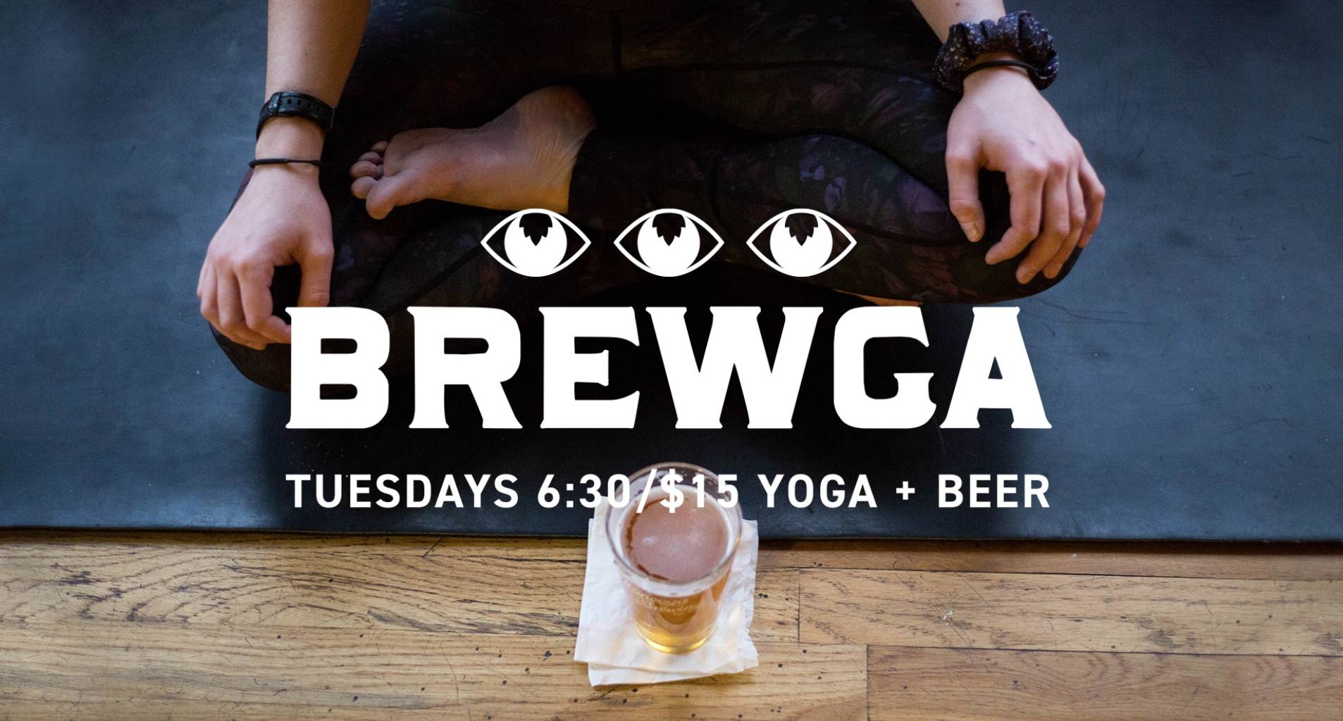 Brewga: Yoga & A Beer 🧘‍♀️