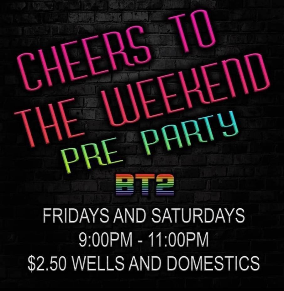 Cheers To Weekend Drink Specials