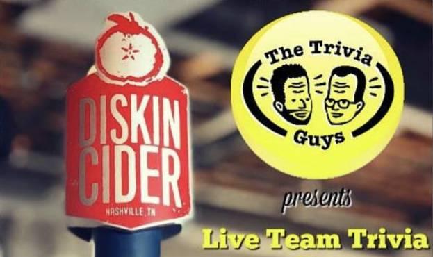 Live Team Trivia at Diskin