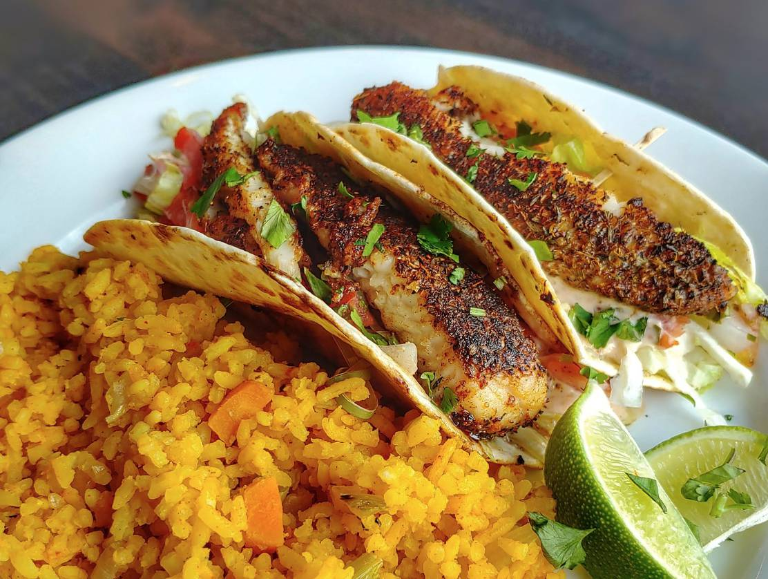 Wednesday Lunch Special: Fish Tacos
