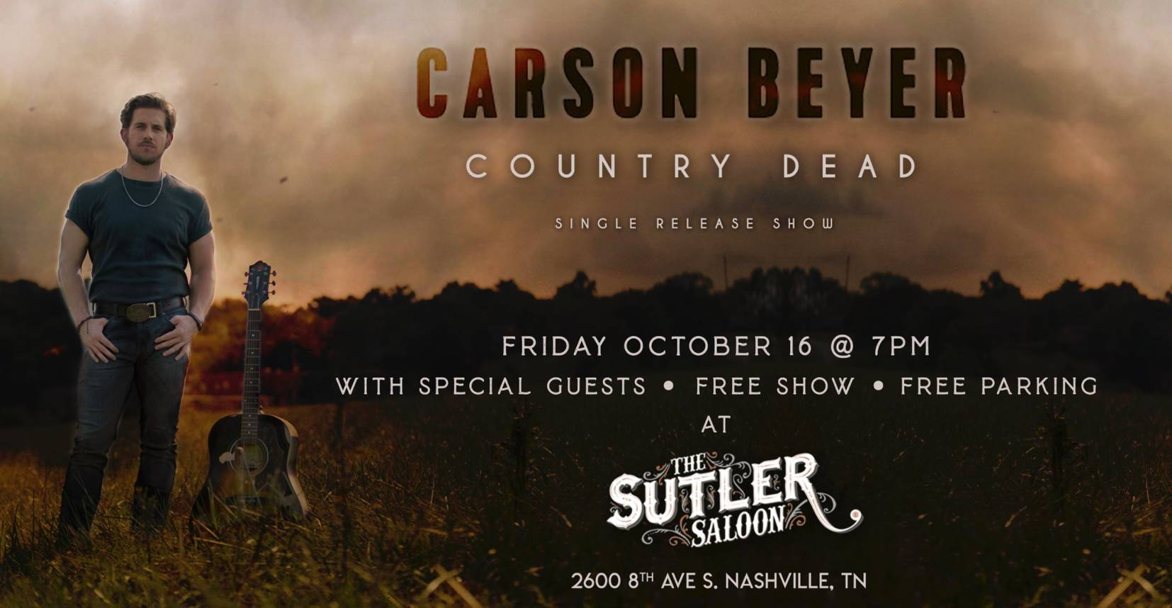 Carson Beyer Single Release Show