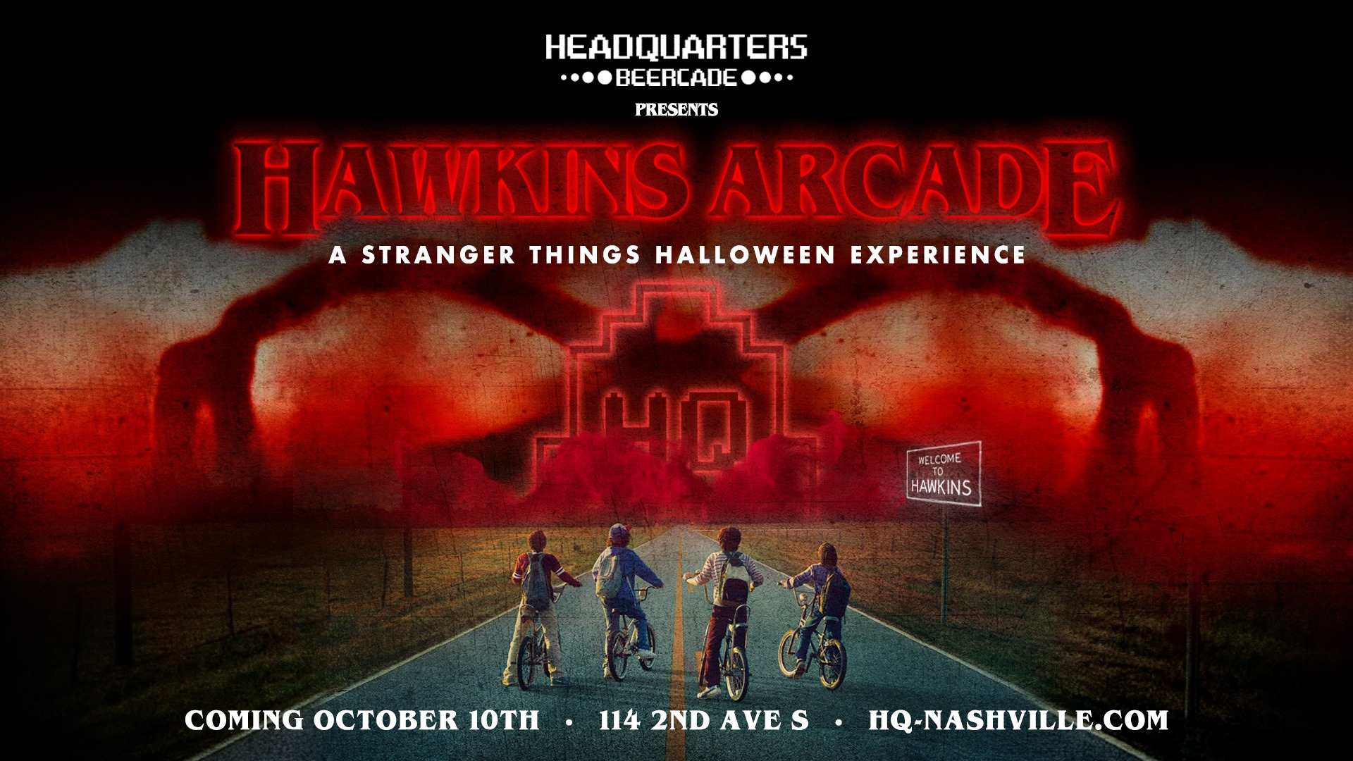 A Stranger Things Halloween Experience Oct 26