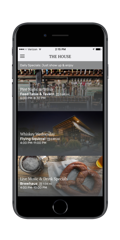 The House Mobile App 3 Offers