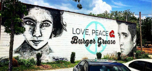 Peace Love & Burger Grease
