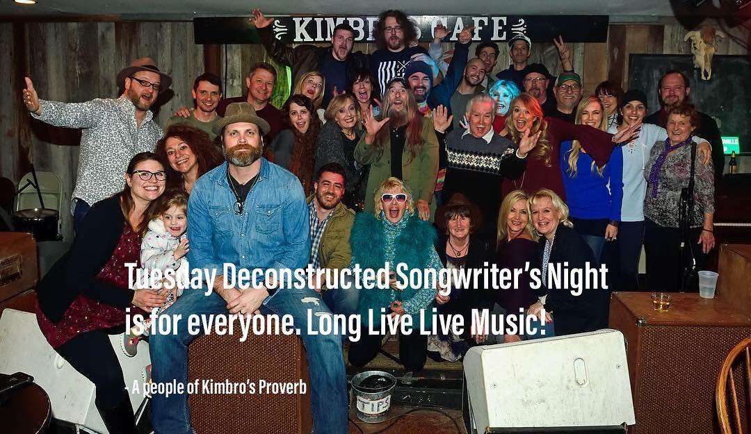 Deconstructed Free-Form Songwriter Night