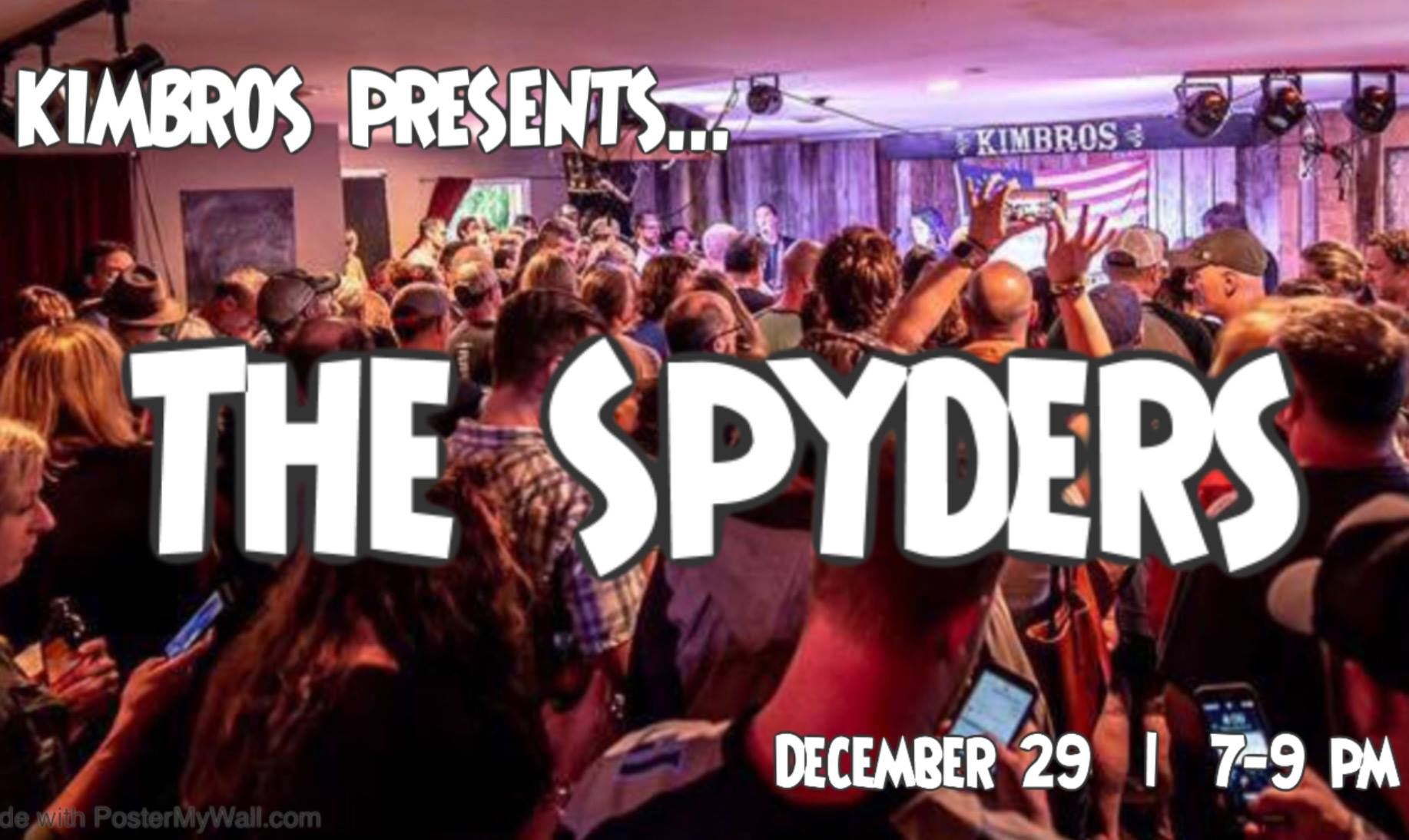 The Spyders Live at Kimbro's