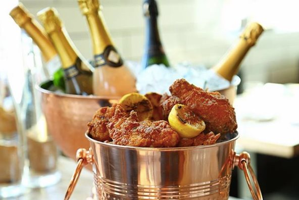 Fried Chicken & Champagne!