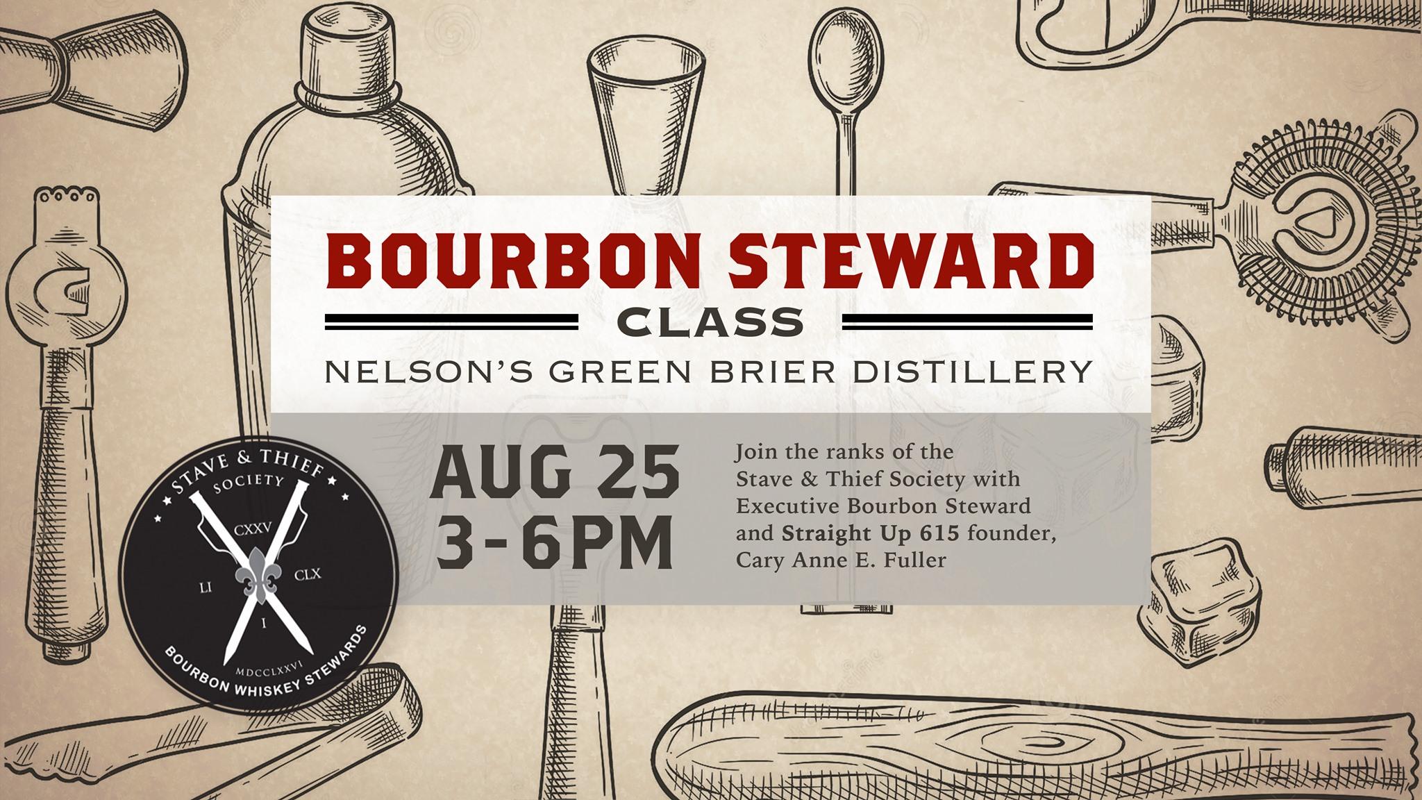 Bourbon Steward Certification