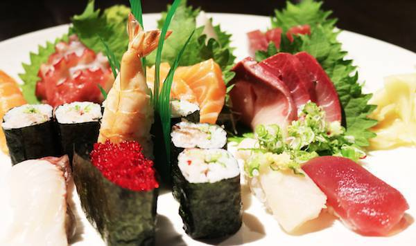 All You Can Eat Sushi Lunch
